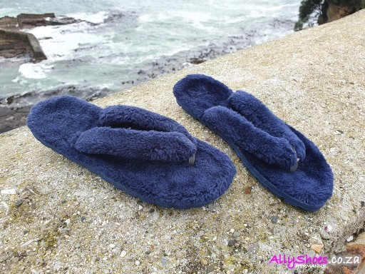 Jello's, Furry, Navy (size UK 5 only)