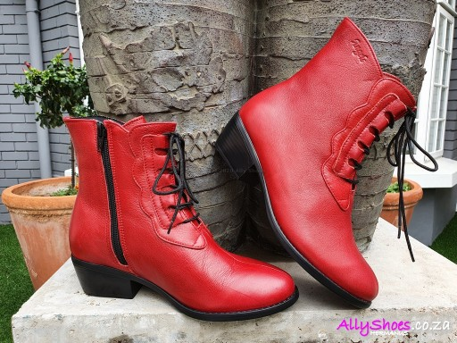 Angels, Milano 107, Red (size UK 9 only)