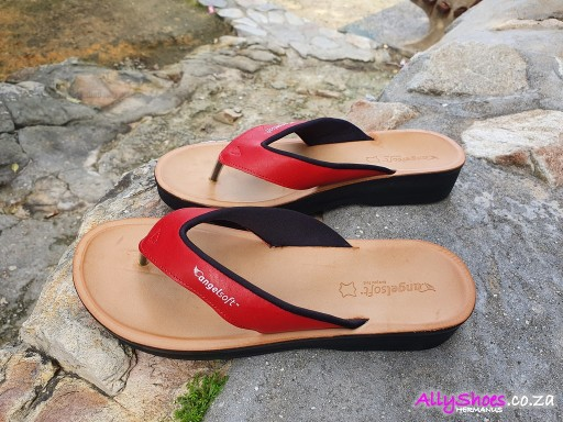 Angelsoft, 1604 CB, Red (size UK 8 only)