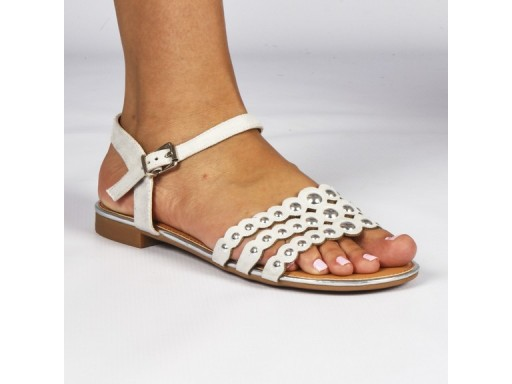Butterfly, Anai, White (size UK 7 only)