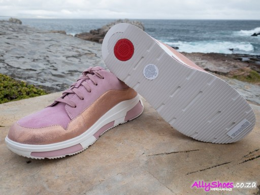 Fitflop, Freya, Soft Pink, Suede (size UK 5½ only)