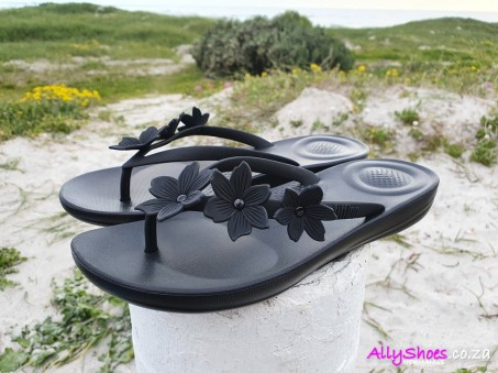 Fitflop, Iqushion Floral, Black