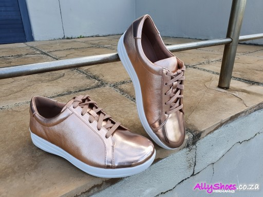 Fitflop, Sporty Lace, Rose Gold (size UK 8 only)