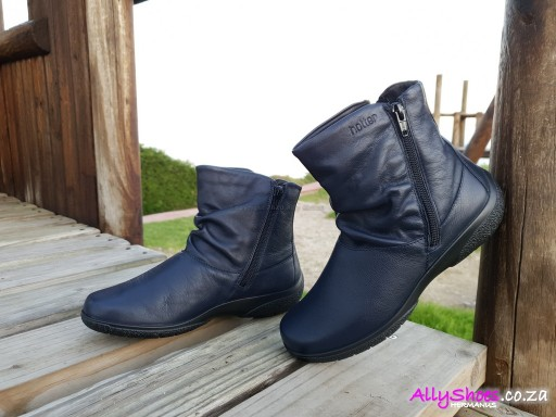 Hotter, Whisper, Navy, Wide Fit (size UK 7 only)