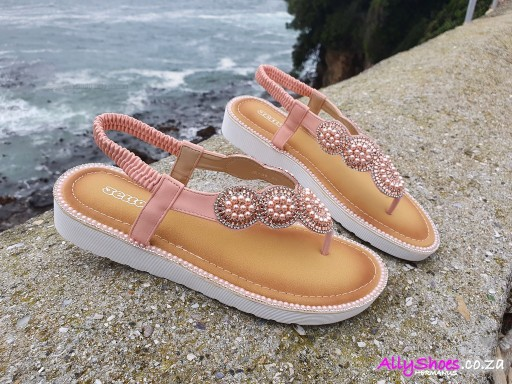 Jello's, JE 08, Pink (size UK 7 only)