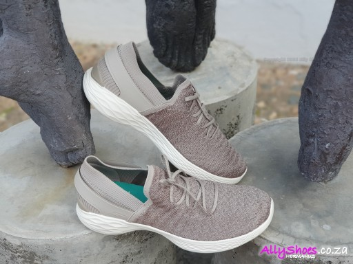 Skechers, Beginning 14975, Taupe (size UK 5 only)