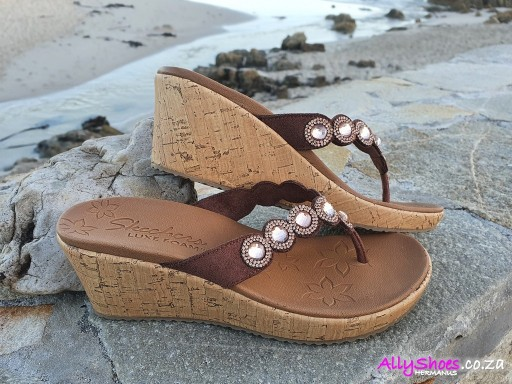Skechers, Bizzy Babe, Brown
