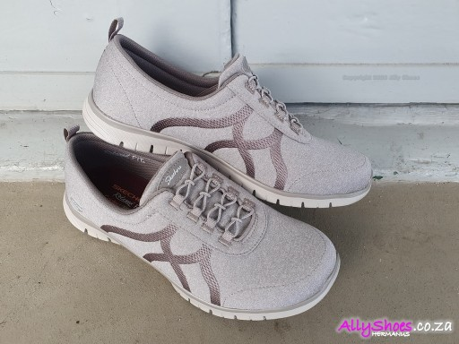 Skechers, Bright Days 23462, Taupe (size UK 8 only)