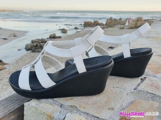 Skechers, Dance Away, White