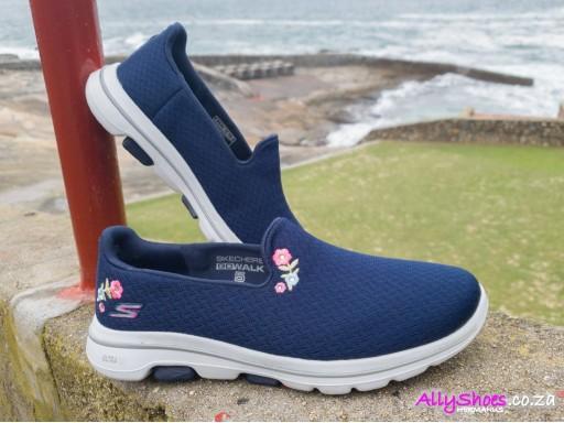 Skechers, Go Walk 5 Garland, Navy White
