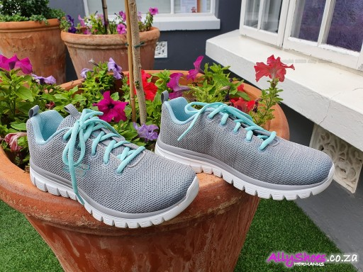 Skechers, Twisted Fortune 12614, Grey Mint