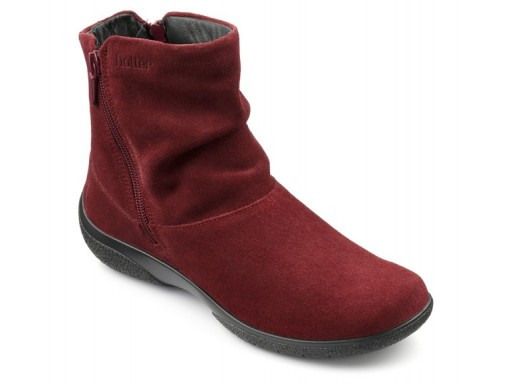 Hotter, Whisper, Ruby, Suede (size UK 6½ only)