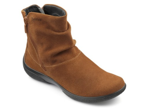 Hotter, Whisper, Tan, Suede (size UK 6½ only)